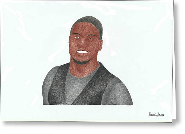 Harts Drawings Greeting Cards - Kevin Hart Greeting Card by Toni Jaso
