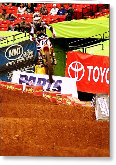 Supercross Greeting Cards - Kevin Windham Greeting Card by Jason Blalock