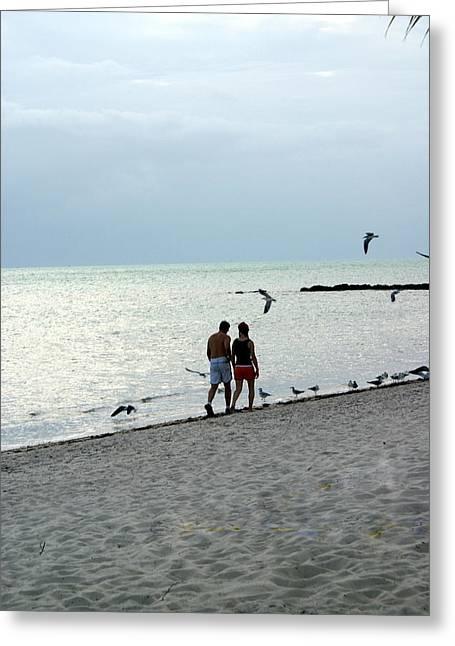 Key West Greeting Card by Marty Koch