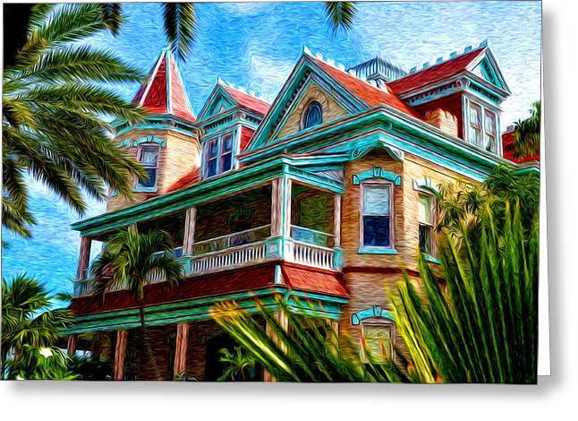 Key West Southern Most Hotel Greeting Card by Bill Cannon