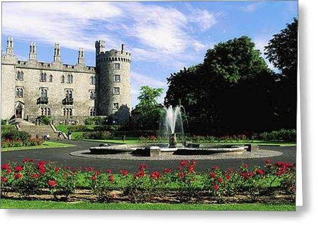 Best Sellers -  - Garden Statuary Greeting Cards - Kilkenny Castle, Co Kilkenny, Ireland Greeting Card by The Irish Image Collection