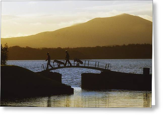 Biosphere Reserve Greeting Cards - Killarney Golf Club, Lough Leane, Co Greeting Card by The Irish Image Collection