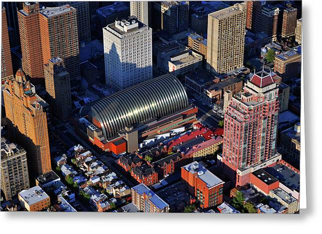 South Philadelphia Greeting Cards - Kimmel Center for the Performing Arts 260 South Broad Street Suite 901 Philadelphia PA 19102 Greeting Card by Duncan Pearson