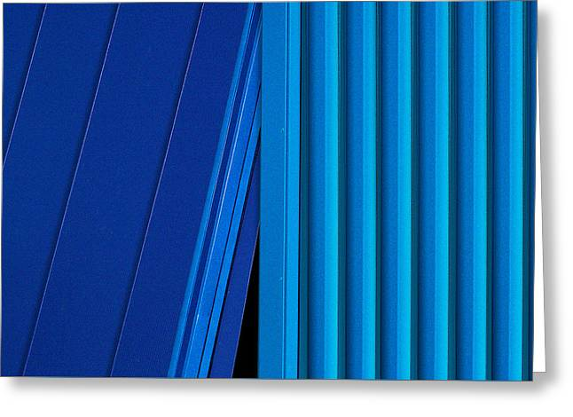 Kind Of Blue Greeting Card by Paul Wear