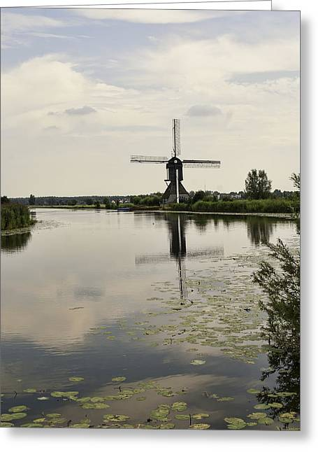 Historic Site Greeting Cards - Kinderdijk No. 13 Greeting Card by Phyllis Taylor