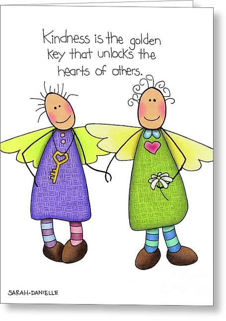 Kindness Greeting Card by Sarah Batalka