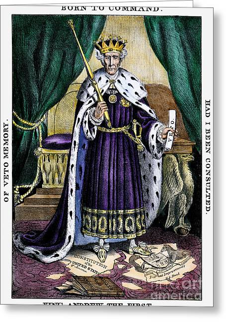 Scepter Greeting Cards - King Andrew The First Greeting Card by Granger