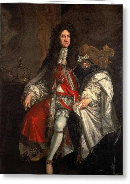 King Charles Greeting Card by Godfrey Kneller