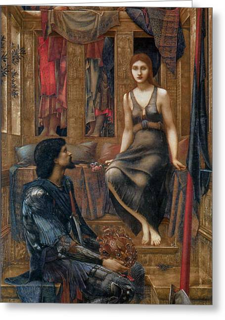 Poynter Greeting Cards - King Cophetua and the Beggar Maid Greeting Card by Celestial Images
