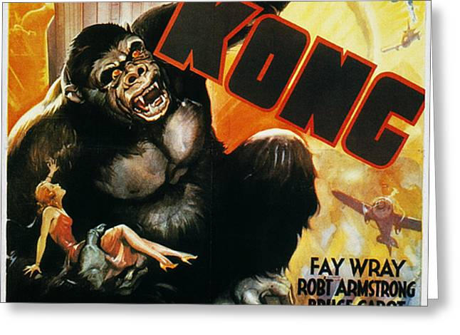 KING KONG POSTER, 1933 Greeting Card by Granger