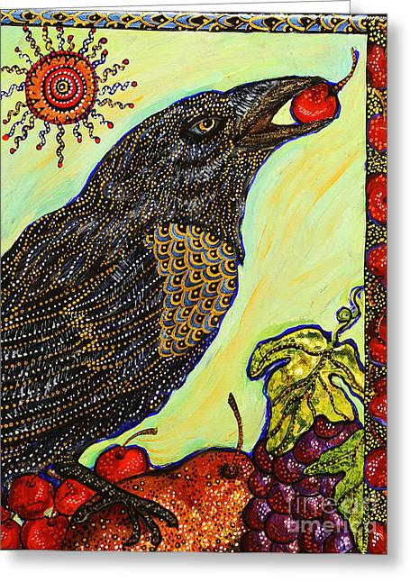 Cole Paintings Greeting Cards - King of Bing Greeting Card by Melissa Cole