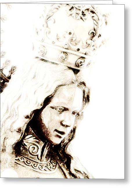 Princes Digital Art Greeting Cards - King of Kings and Lord of Lords Greeting Card by Linda Knorr Shafer