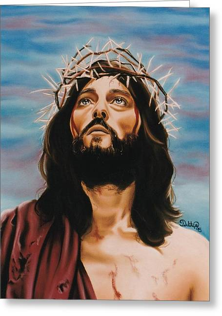 Son Pastels Greeting Cards - King of Kings Greeting Card by Debbie Fischer