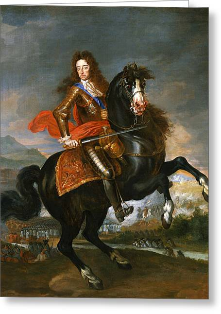 King William I I I Greeting Card by Mountain Dreams