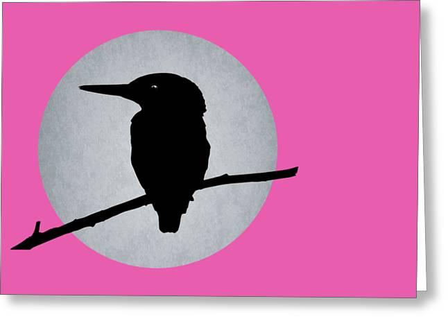 Kingfisher Greeting Card by Mark Rogan