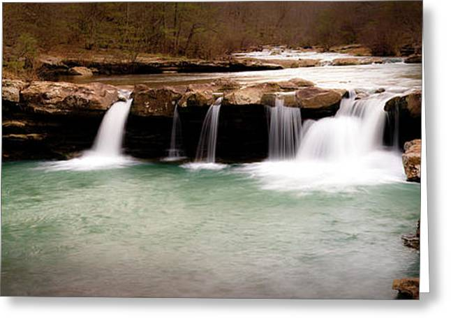 King's River Panorama Greeting Card by Tamyra Ayles
