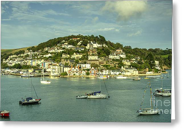 River View Greeting Cards - Kingswear  Greeting Card by Rob Hawkins