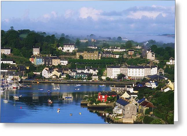 County Cork Greeting Cards - Kinsale, Co Cork, Ireland View Of Boats Greeting Card by The Irish Image Collection