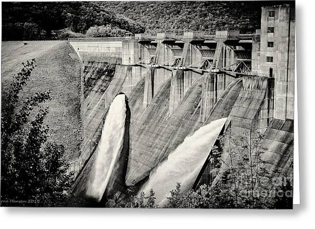 Generators Greeting Cards - Kinzua I Greeting Card by Arne Hansen