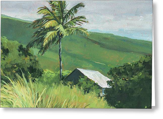 Kipahulu Off The Grid Greeting Card by Stacy Vosberg