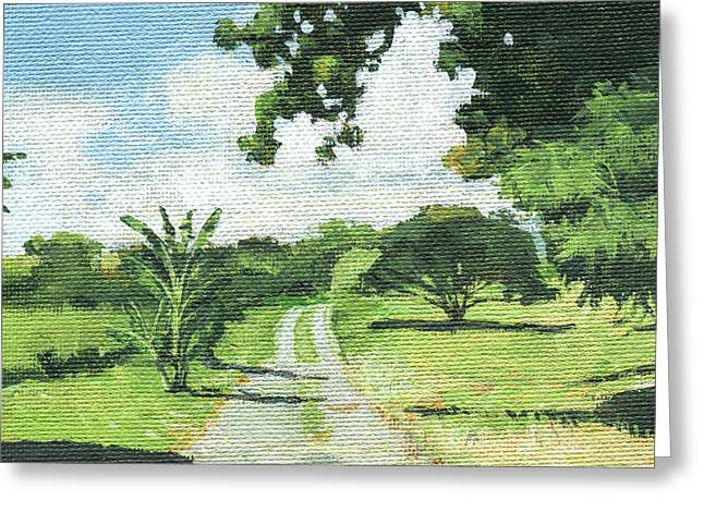 Kipahulu Ranch Greeting Card by Stacy Vosberg