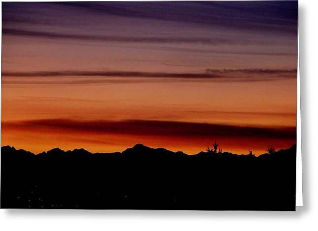 Kirkland At Sunset Greeting Card by Barbara Norfleet