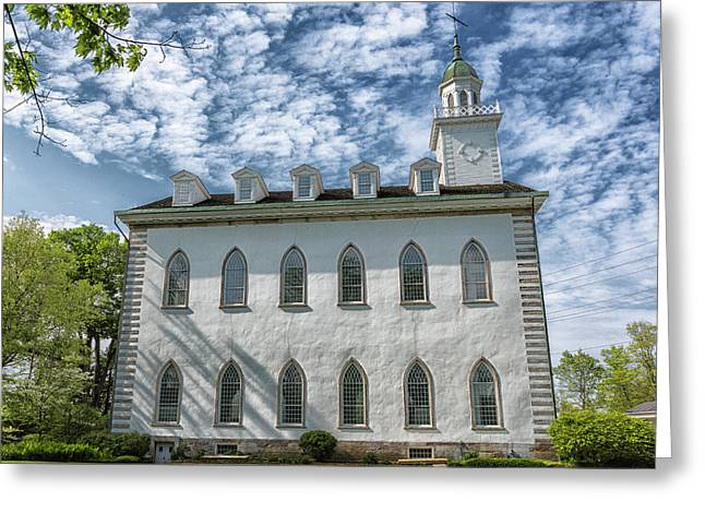 Kirtland Temple Greeting Card by Stephen Stookey