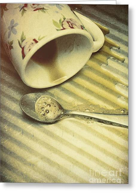 Kitchen Drama Greeting Card by Jorgo Photography - Wall Art Gallery