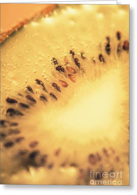 Kiwi Margarita Details Greeting Card by Jorgo Photography - Wall Art Gallery