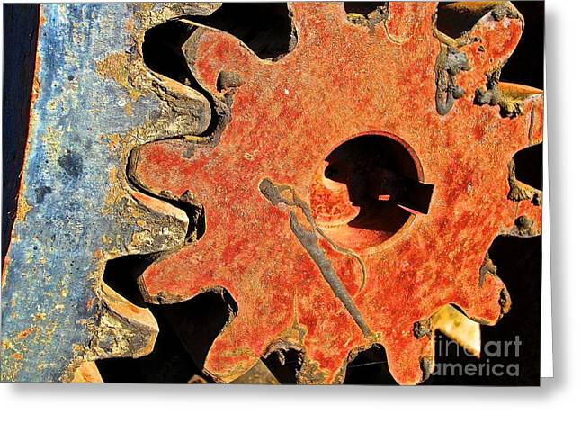 Component Digital Greeting Cards - Klicklackersplat Greeting Card by Mut Magic Collaborative