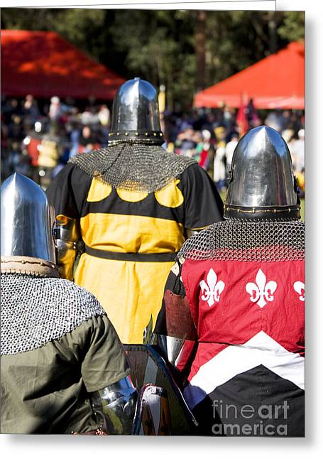 Knight Squad Greeting Card by Jorgo Photography - Wall Art Gallery