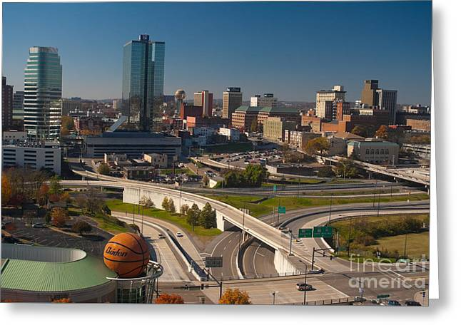 Office Space Greeting Cards - Knoxville - Tennessee Greeting Card by Anthony Totah