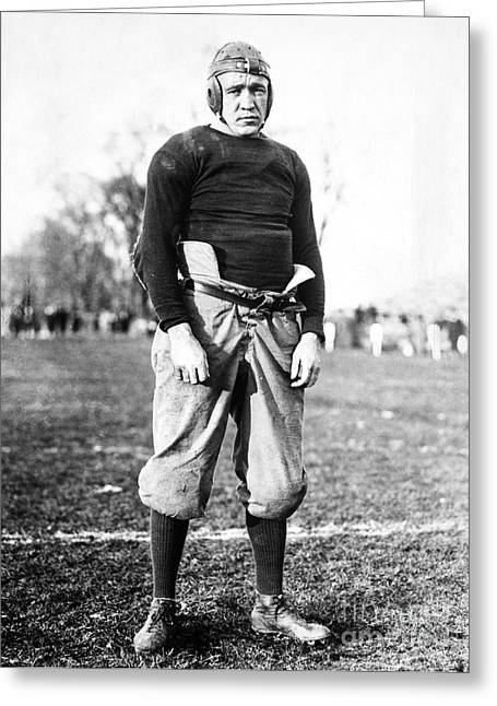 Football Photographs Greeting Cards - Knute Rockne (1888-1931) Greeting Card by Granger