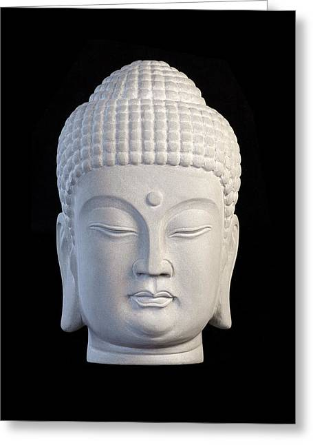 Buddhism Sculptures Greeting Cards - Korean C Greeting Card by Terrell Kaucher
