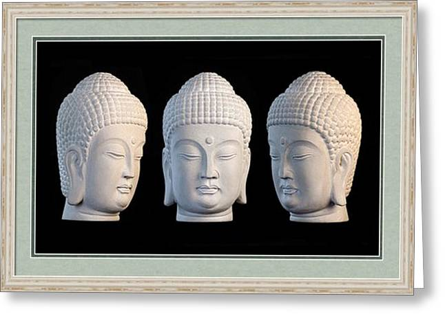Buddhism Sculptures Greeting Cards - Korean Greeting Card 1 Greeting Card by Terrell Kaucher