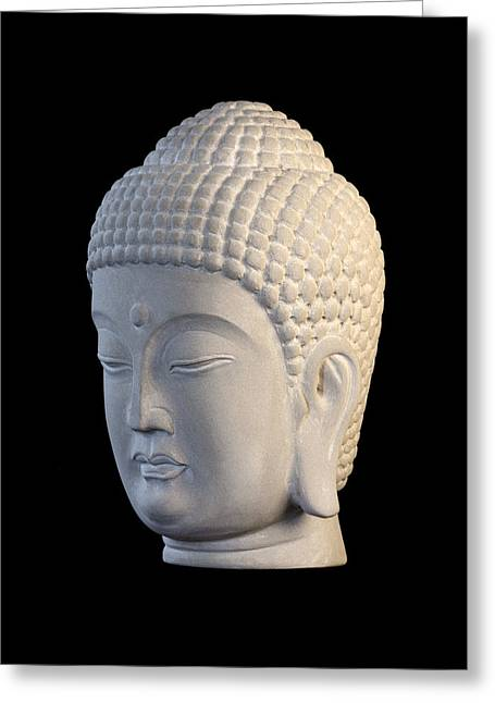 Buddhism Sculptures Greeting Cards - Korean L Greeting Card by Terrell Kaucher