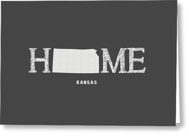 Ks Home Greeting Card by Nancy Ingersoll