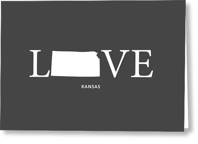Ks Love Greeting Card by Nancy Ingersoll