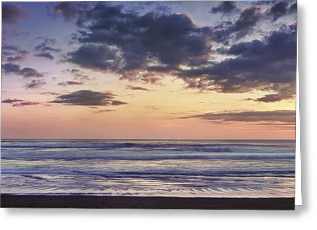 Calm Waters Greeting Cards - Kuta Beach - Bali Greeting Card by Rod McLean