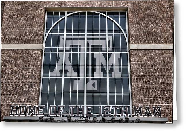 Kyle Field - Home Of The 12th Man Greeting Card by Stephen Stookey