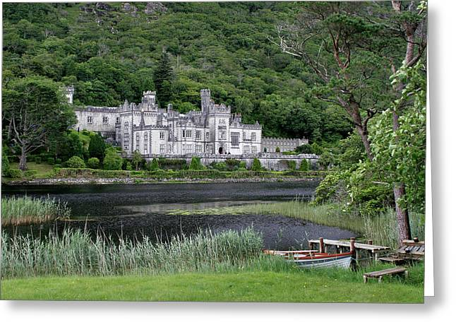 Kylemore Abbey Greeting Card by Steven King