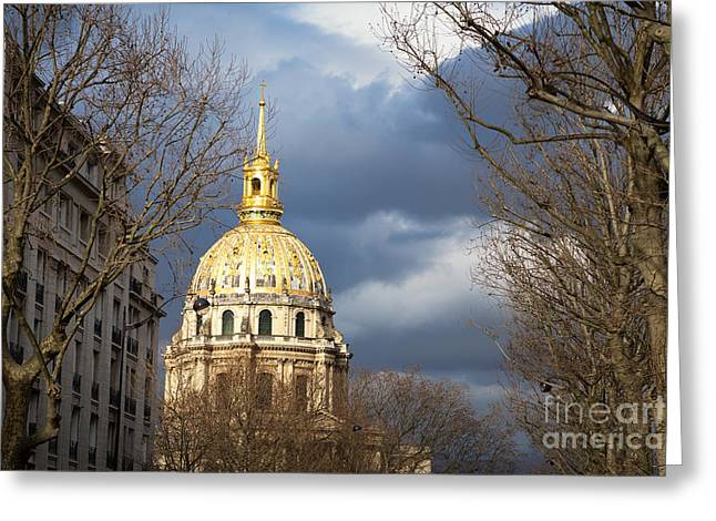 L Hotel National Des Invalides Greeting Card by Jane Rix
