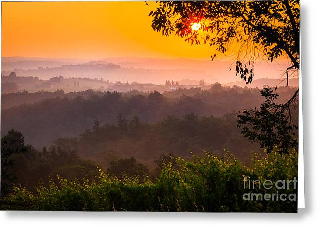 La Bella Toscana Greeting Card by Inge Johnsson