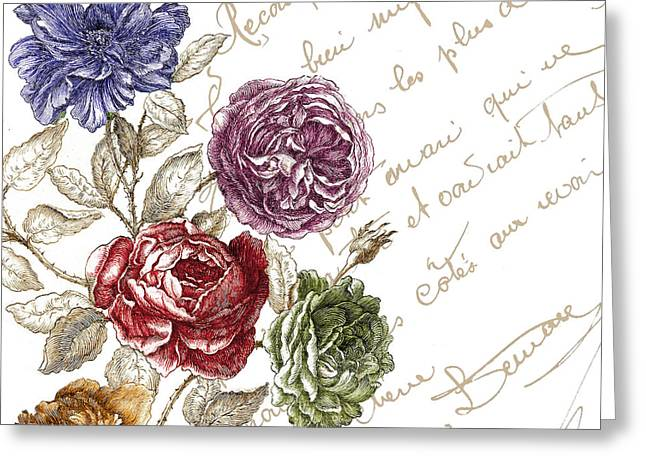La Belle Vie I  Greeting Card by Mindy Sommers
