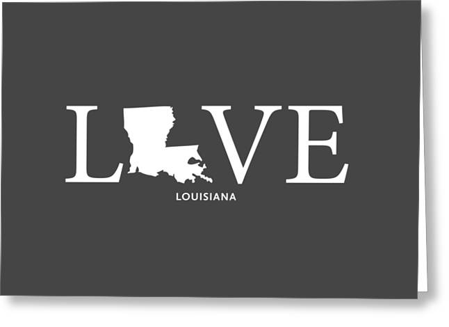 Tulane Greeting Cards - LA Love Greeting Card by Nancy Ingersoll