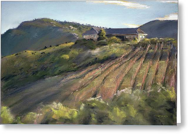 La Vierge Winery Greeting Card by Christopher Reid