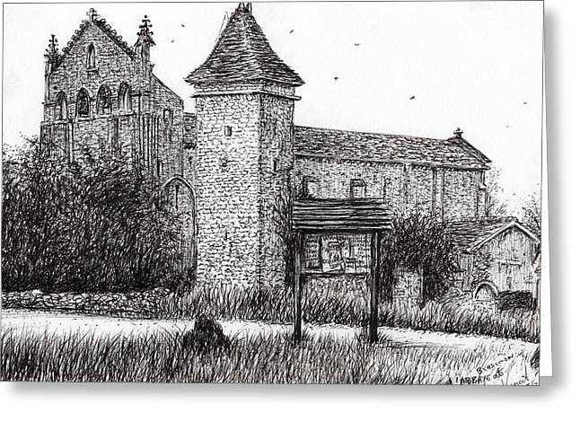 L'abbeye Blassimon Greeting Card by Vincent Alexander Booth