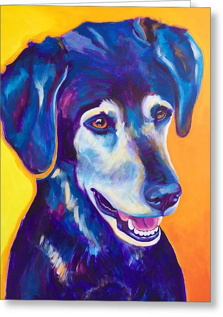 Labrador - Kenobi Greeting Card by Alicia VanNoy Call