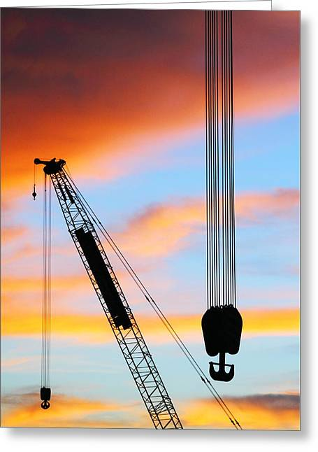 Recently Sold -  - Commercial Photography Greeting Cards - Labuan Shipyard 2AM-117395 Greeting Card by Andrew McInnes