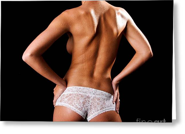 Lace Panties Greeting Card by Jt PhotoDesign